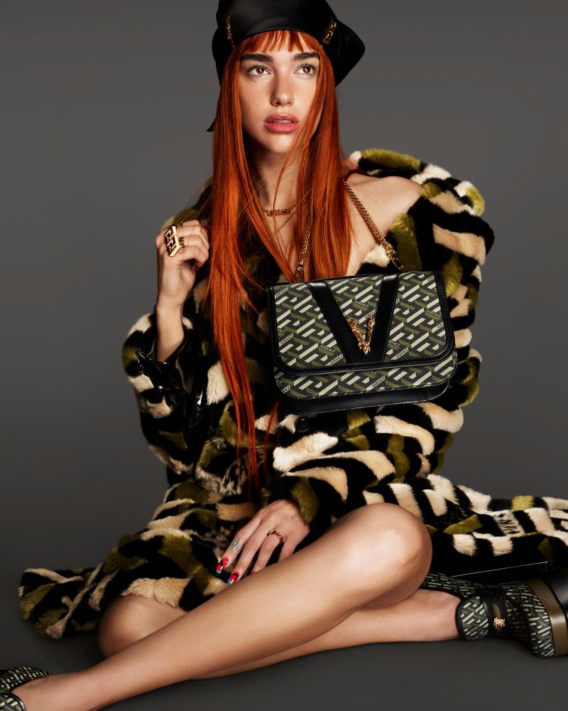 Dua Lipa for Versace
