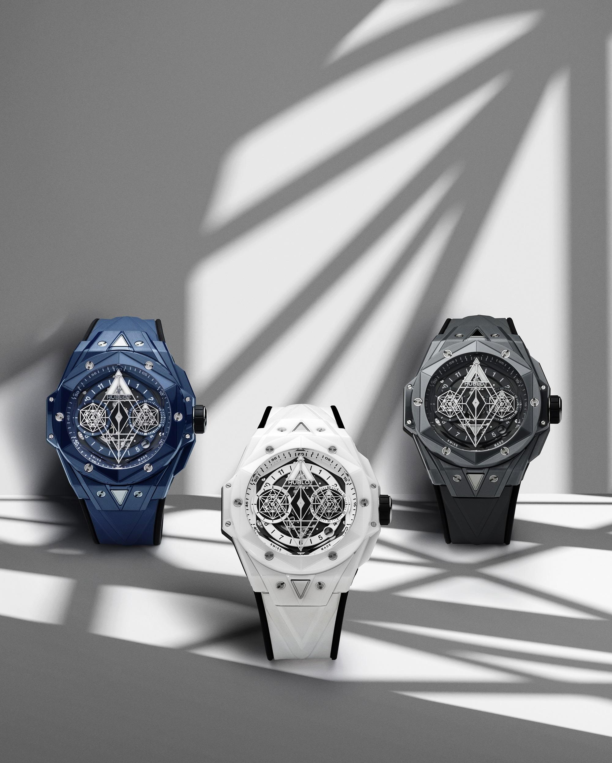 Hublot Big Bang Sang Bleu II Ceramic watches