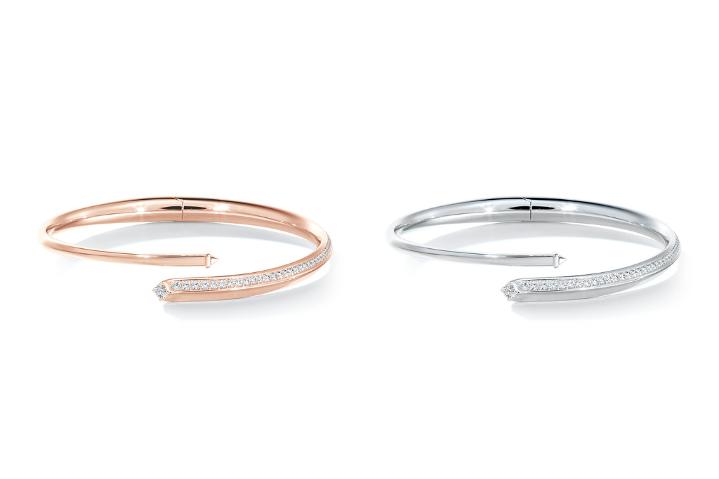De Beers Forevermark Avaanti Bypass Bangle