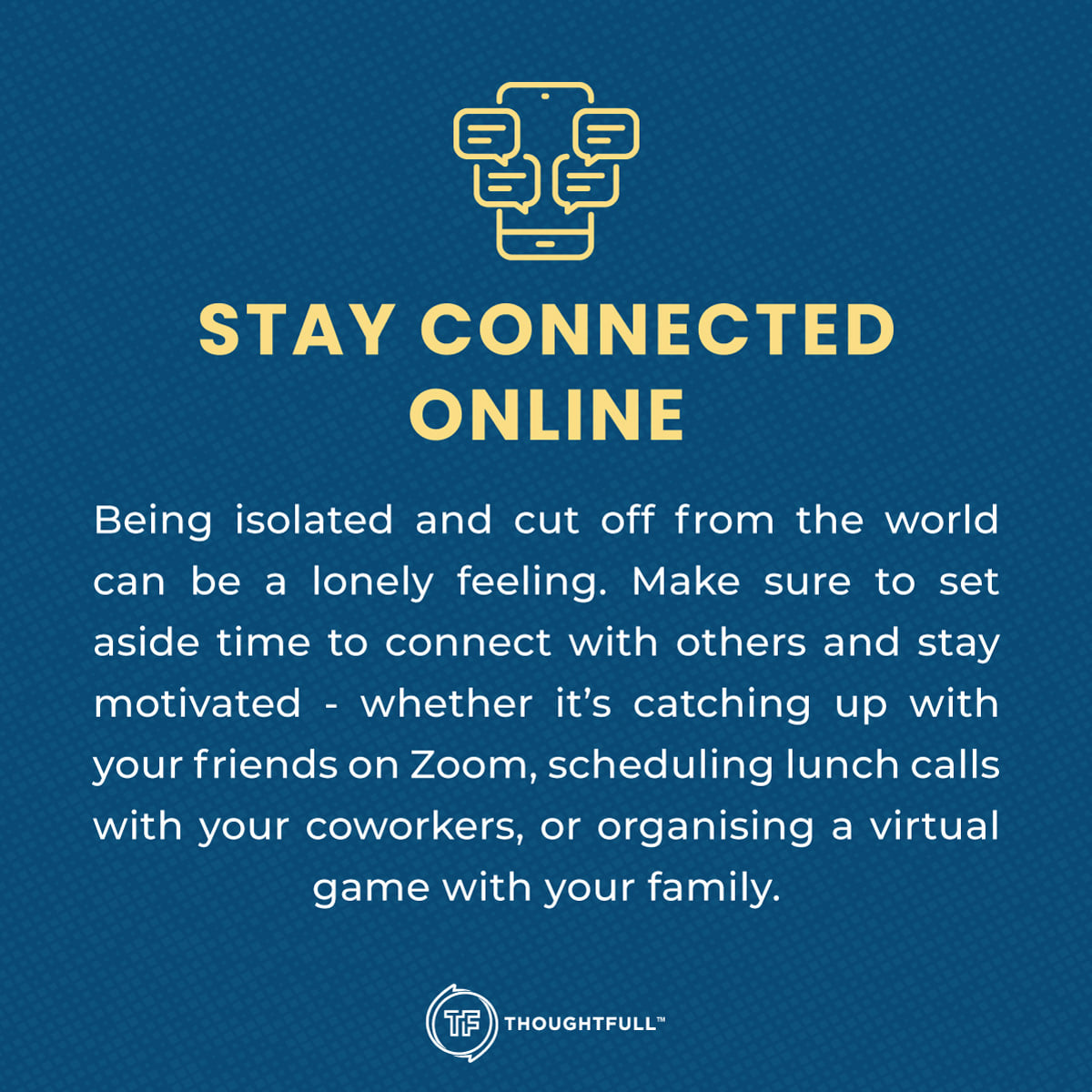 Online therapy - Thoughtfull