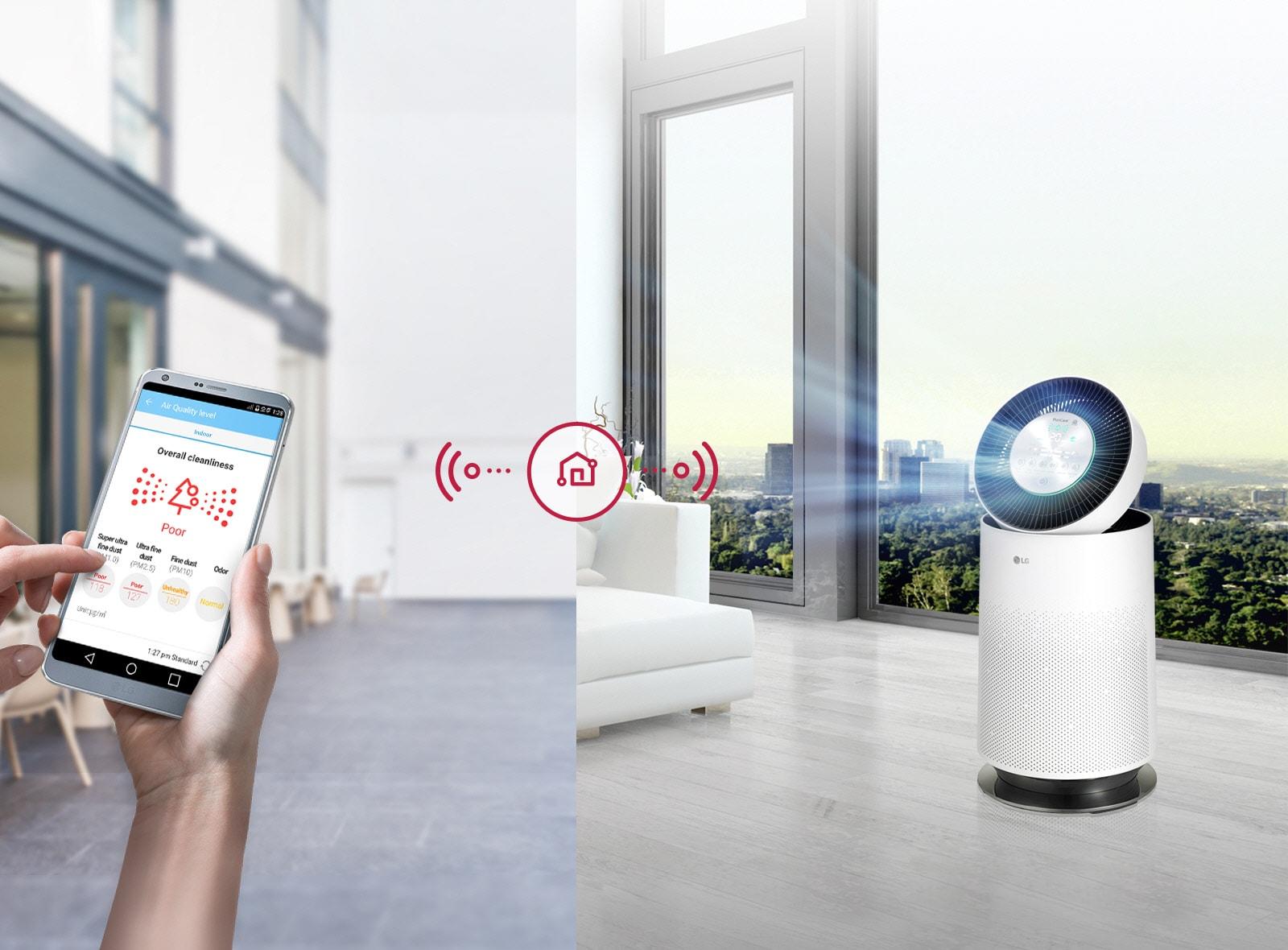 LG PuriCare 360º Air Purifier