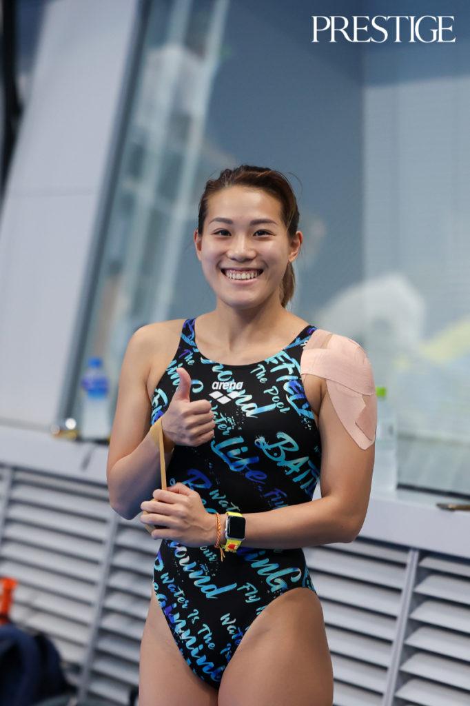 Wendy Ng Yan Yee from Malaysia at Tokyo 2020 Olympics