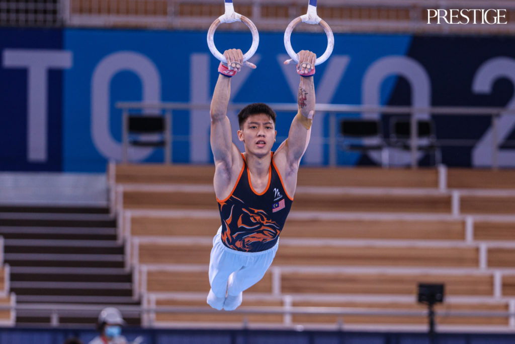 Jeremiah Loo Phay Xing from Malaysia at Tokyo 2020 Olympics