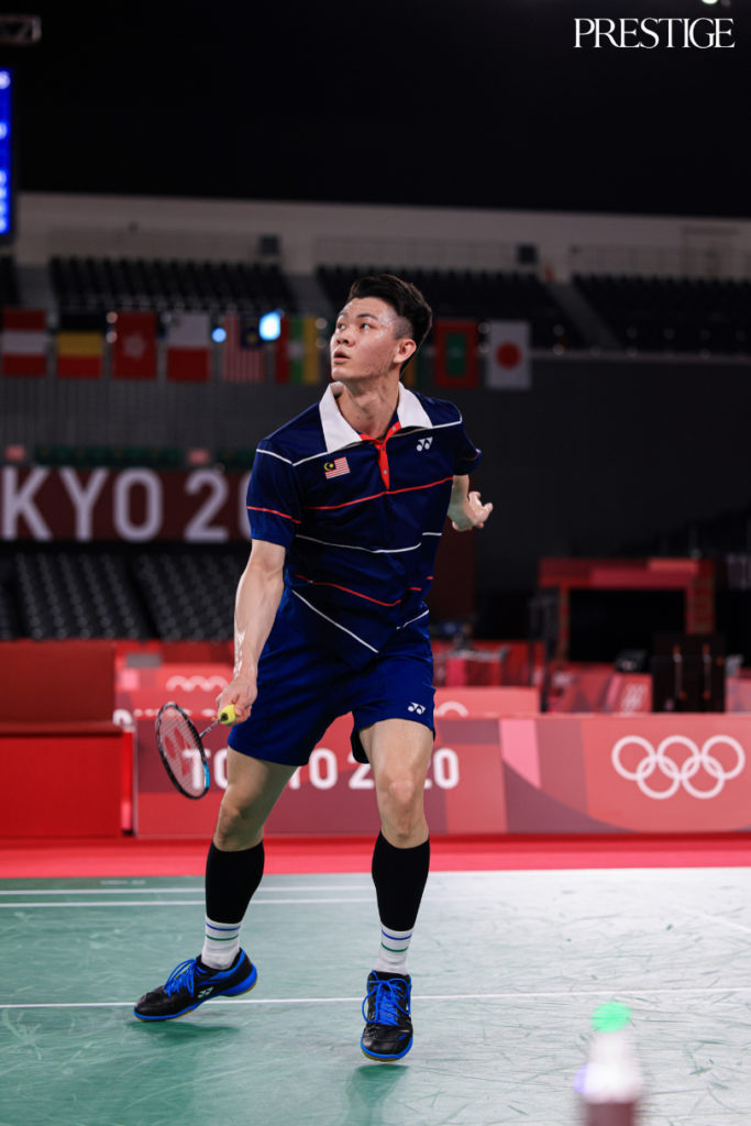 Lee Zii Jia from Malaysia at Tokyo 2020 Olympics