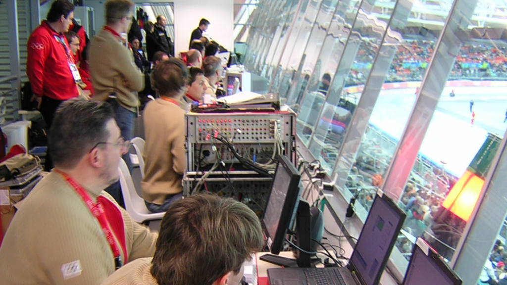 Omega timekeeping at the Olympics