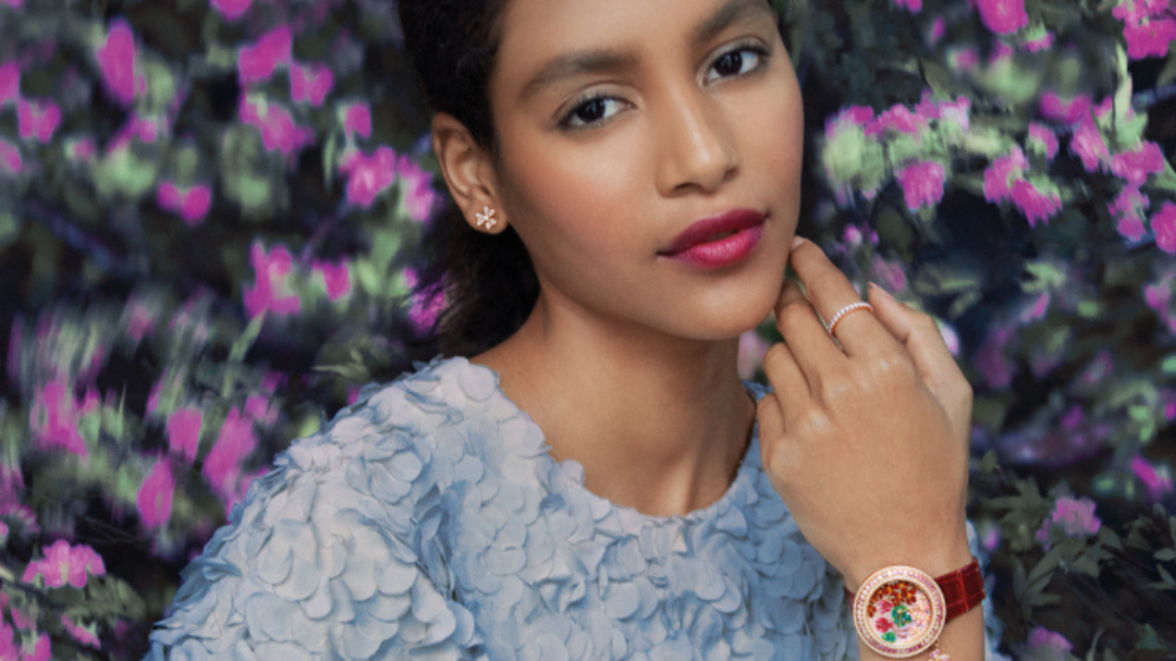 The floral universe of Van Cleef & Arpels flourishes with the Frivole collection