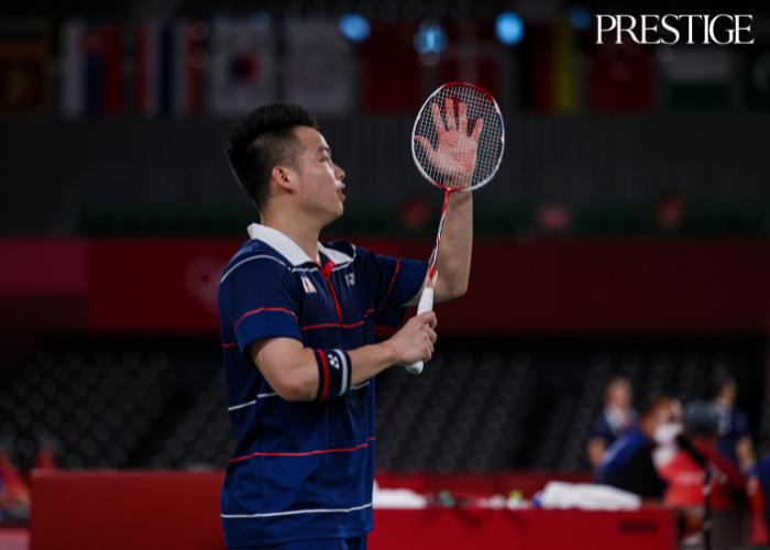 Aaron Chin from Malaysia at Tokyo 2020 Olympics