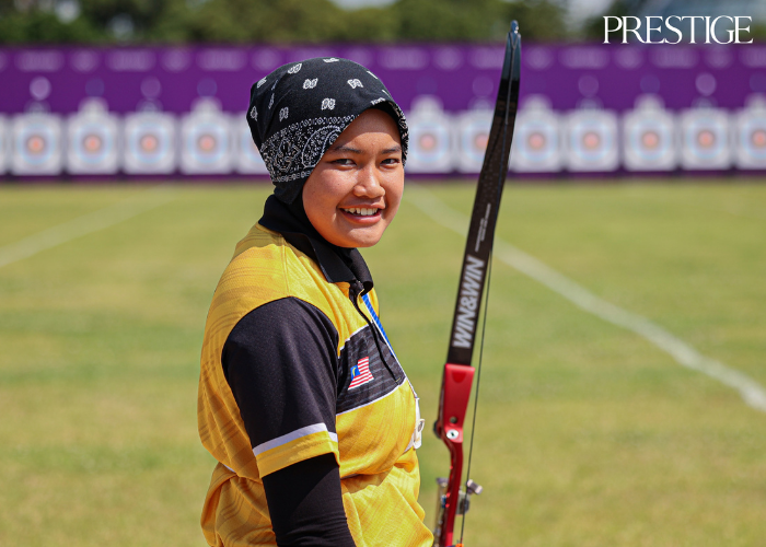 Syaqiera binti Mashayikh from Malaysia at Tokyo 2020 Olympics