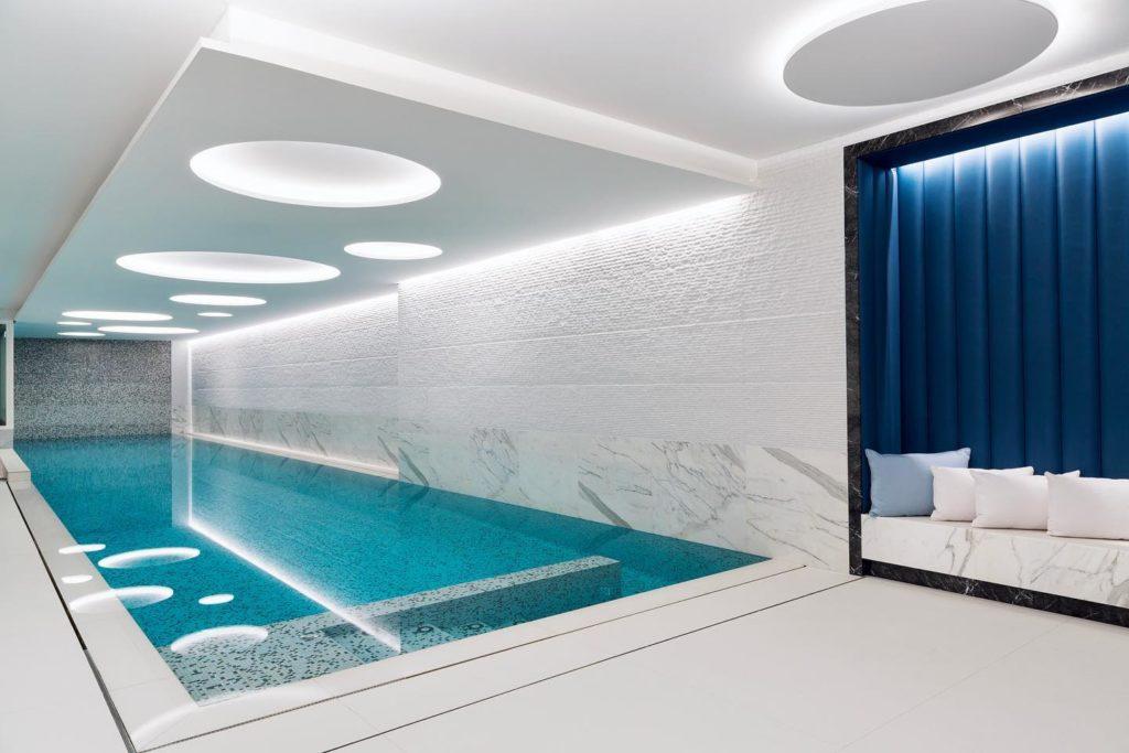 The Woodward Geneva pool