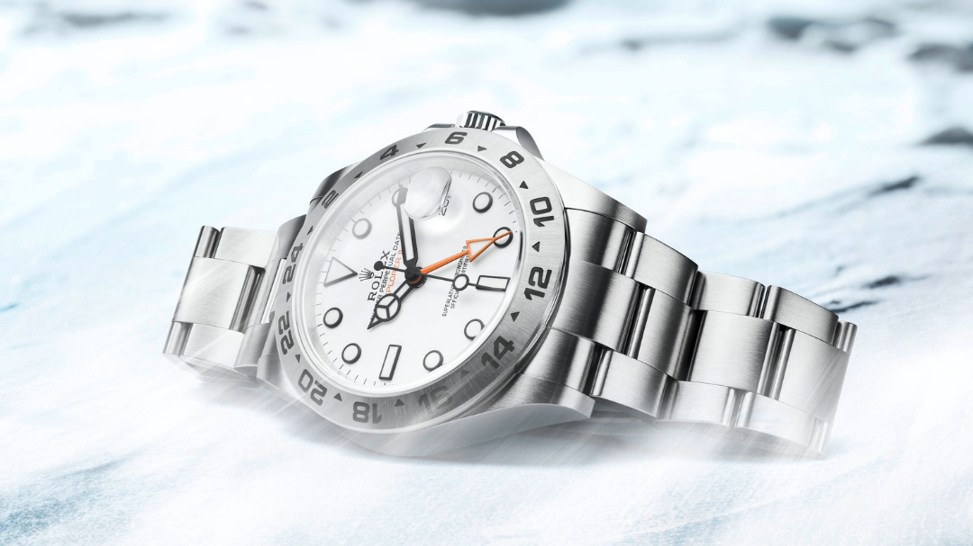 The Rolex Oyster Perpetual Explorer and Explorer II are made for adventurers