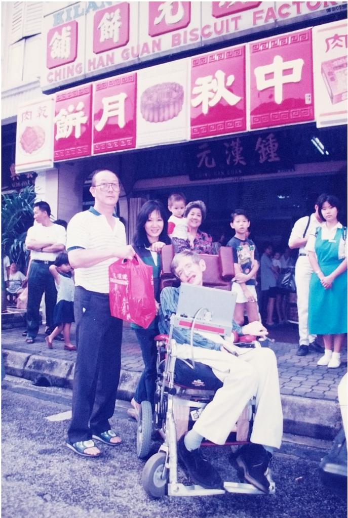 Stephen Hawking in Ipoh