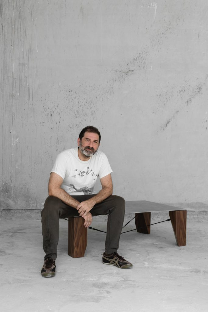 Paper Coffee Table by Fadi Sarieddine