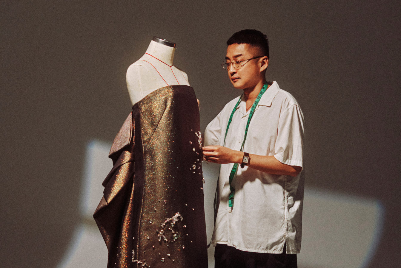 Malaysian couturier Khoon Hooi details how every inch of his designs is 'Made with Care'