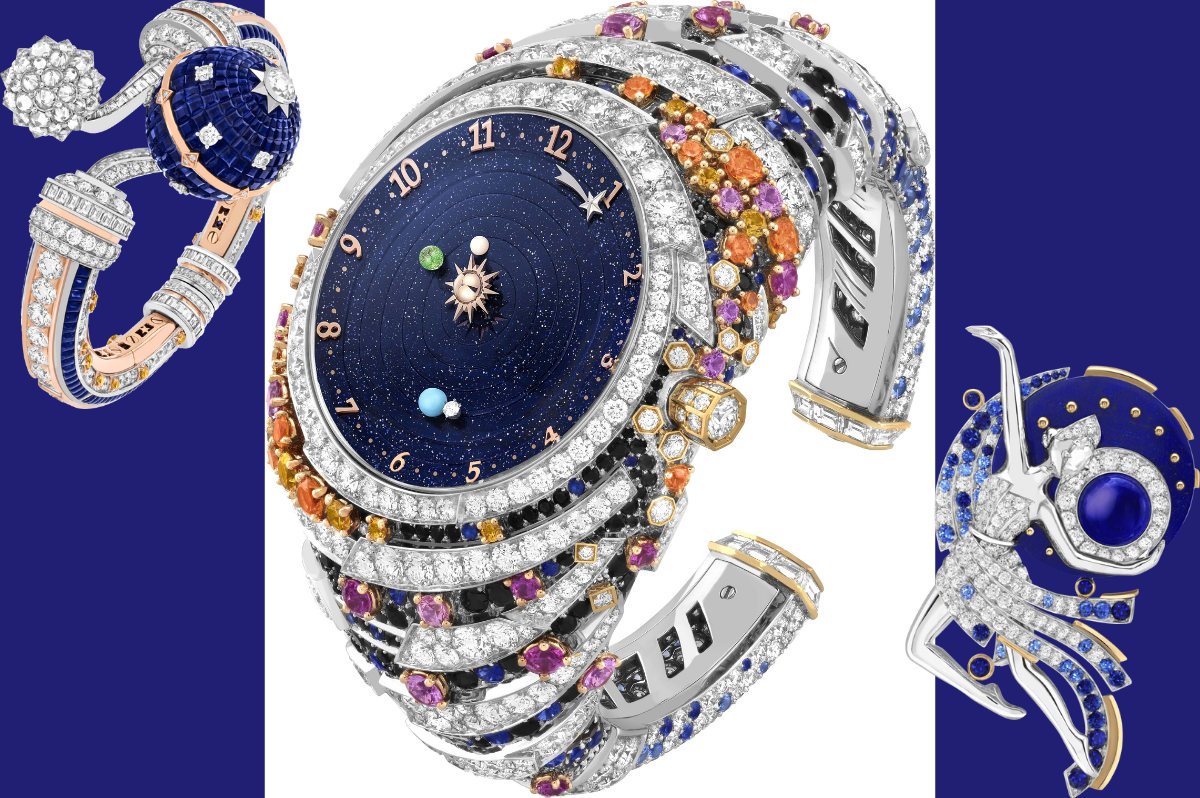 Van Cleef & Arpels' new Sous les Étoiles high jewellery collection: A celestial postcard from the cosmos