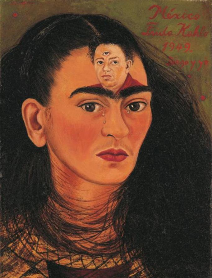 """Frida Kahlo """"Diego y yo"""""""