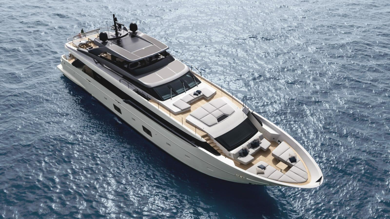 Set sail aboard Sanlorenzo's new asymmetrical yachts