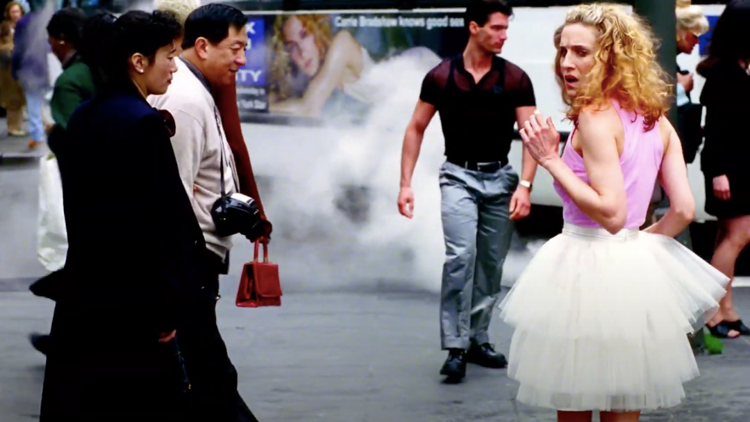 Carrie Bradshaw's iconic tutu skirt is a major Fall 2021 trend