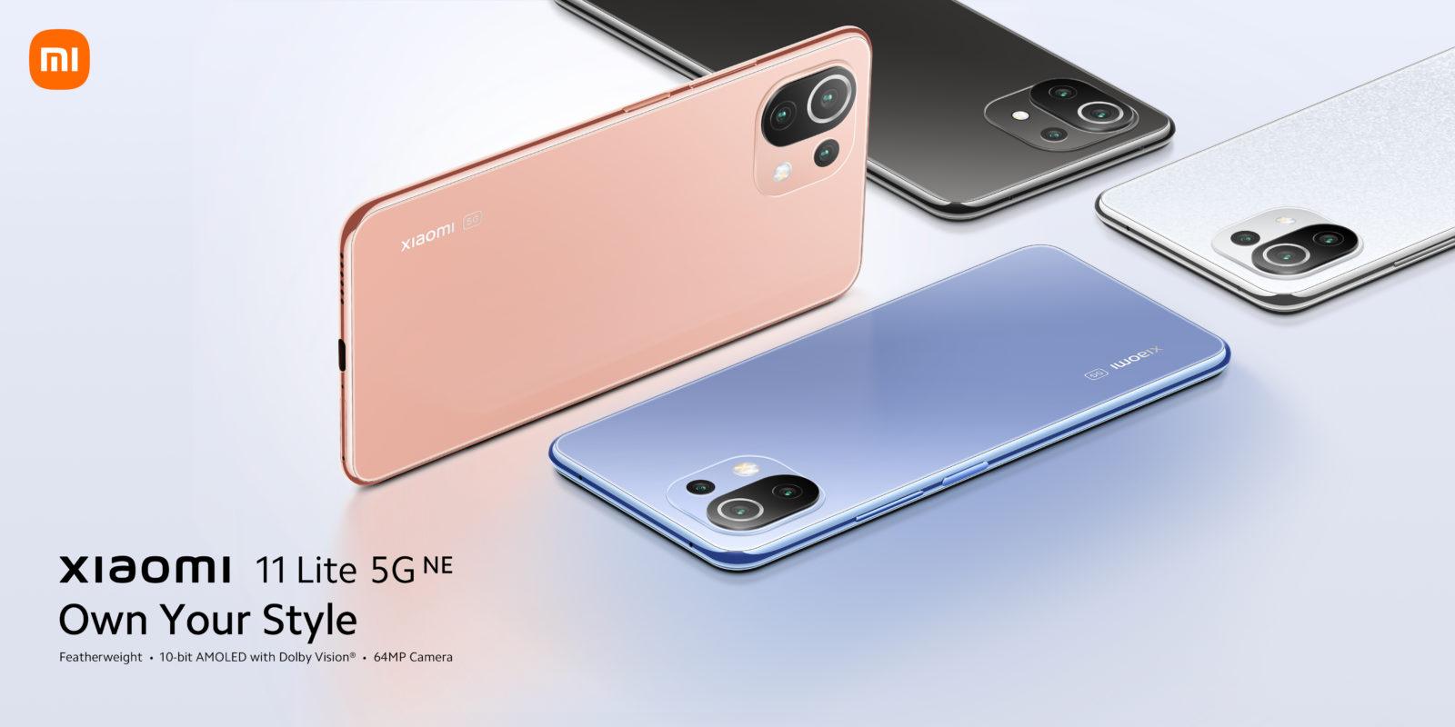 Make a fashion statement with the all-new Xiaomi 11 Lite 5G NE