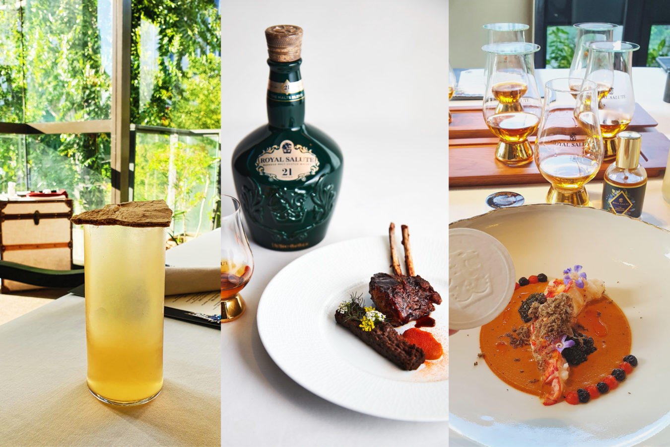 The Royale Salute x Nadodi pairing is a regal feast not to be missed