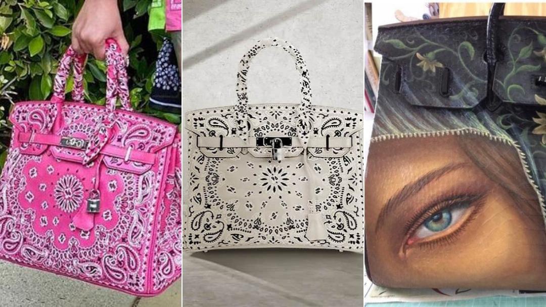 How celebs like Cardi B and Kim Kardashian personalise their Hermès Birkin bags