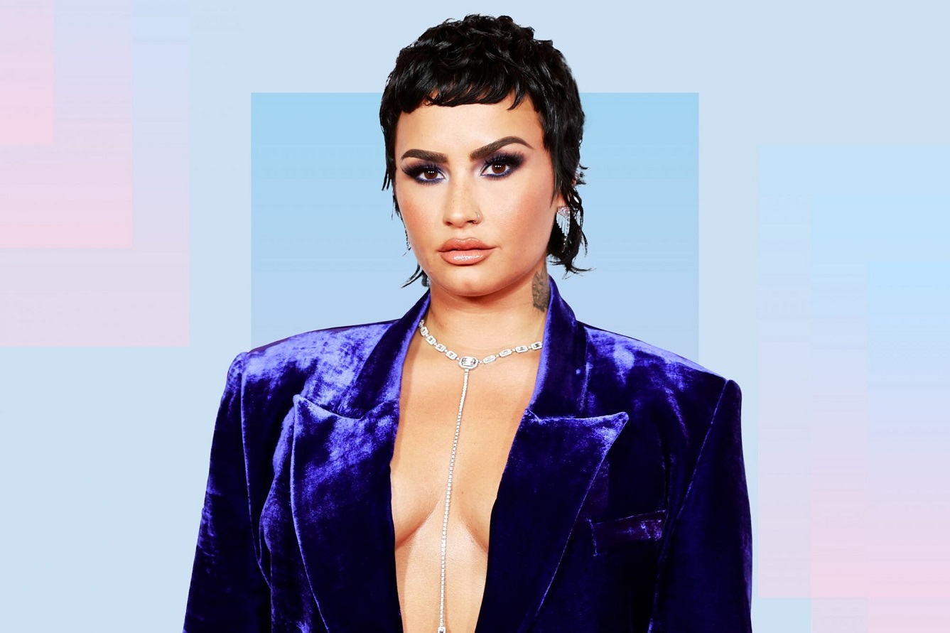 Demi Lovato is living their life 'as loudly as possible' since coming out a non-binary
