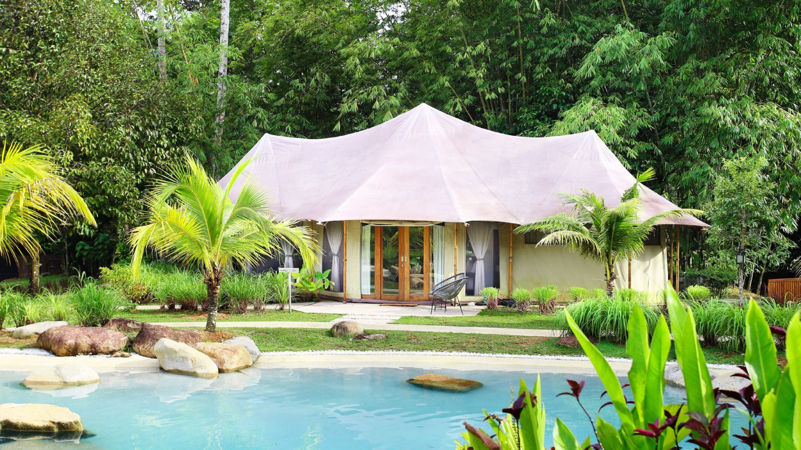 Glamping sites in Malaysia for a break amidst nature