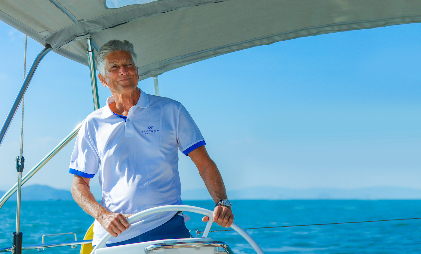 Mike Simpson on his game-changing role in building Asia's yachting industry