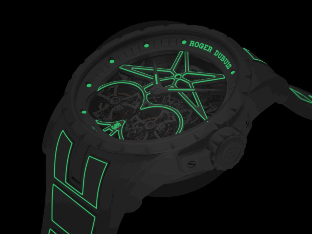 Roger Dubuis puts the cool into the glow-in-the-dark Excalibur Twofold