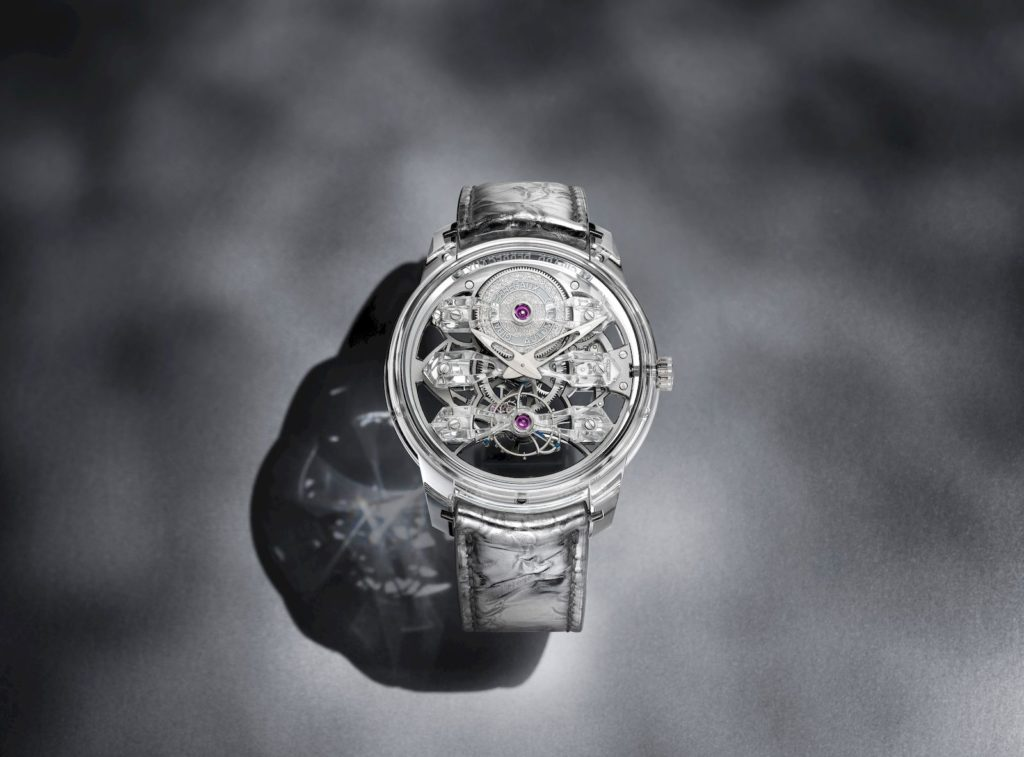 The Girard-Perregaux Quasar Light takes transparency to a whole new level