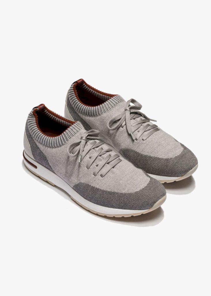 Loro Piana's 360 LP Flexy Walk Sneakers are made of smart Merino wool