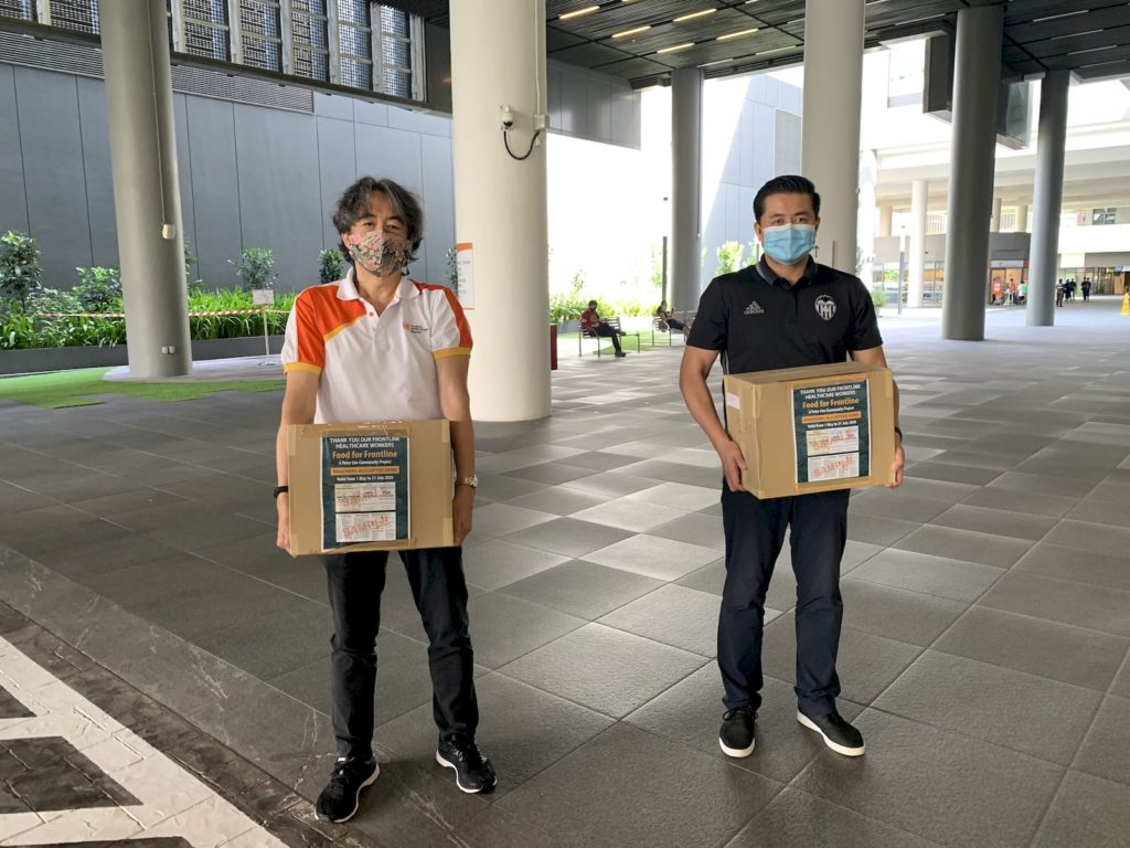 Singapore billionaire Peter Lim donates $1m worth of meals for frontline healthcare workers