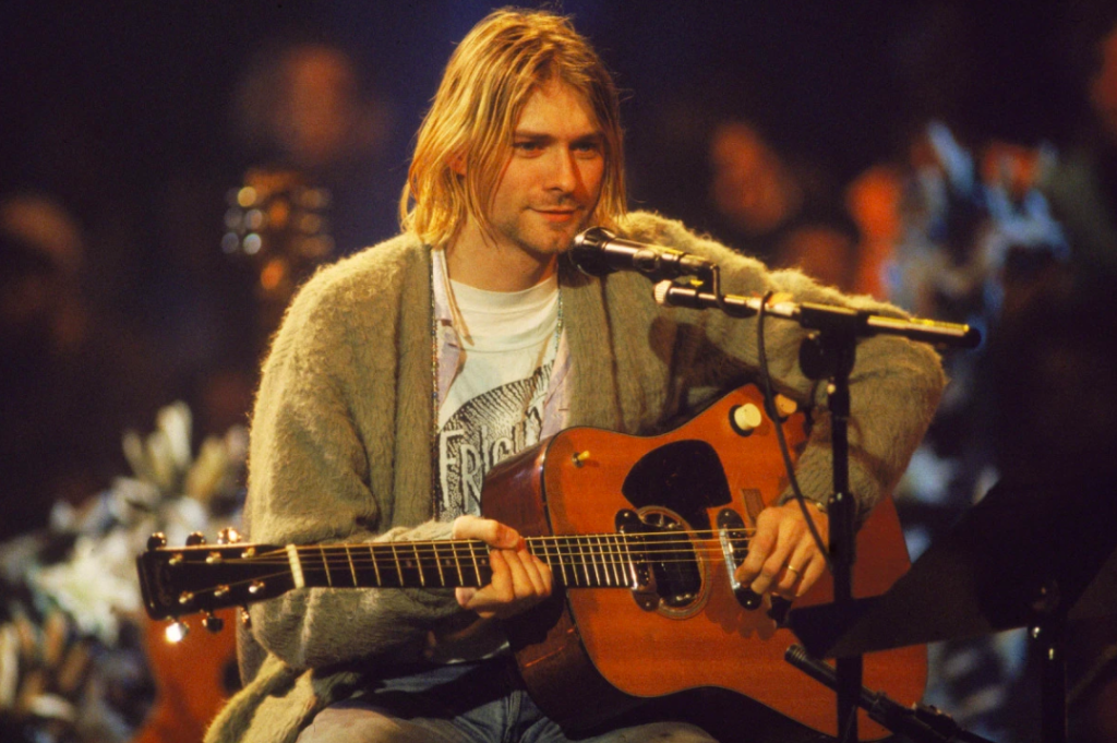 kurt cobain guitar auction