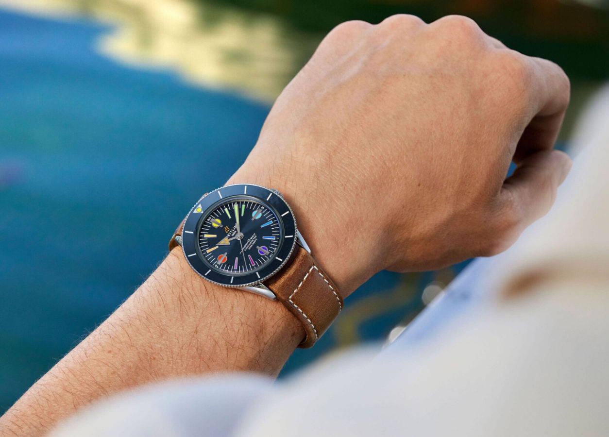 Swiss watchmaker Breitling joins in the fight against COVID-19