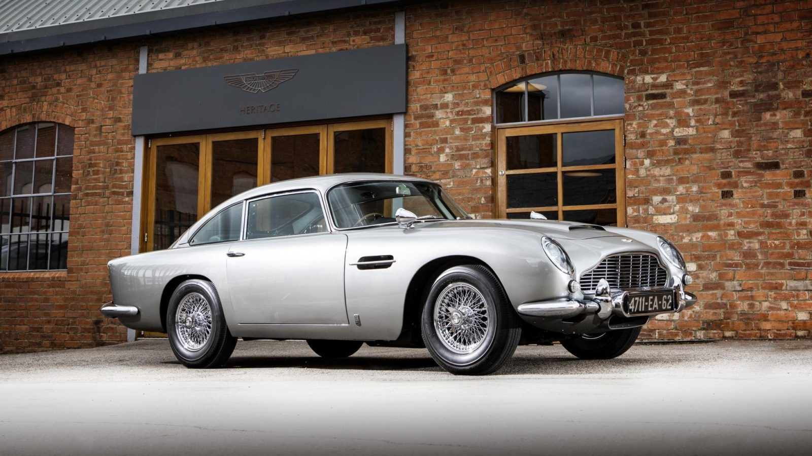 The iconic Aston Martin DB5 from James Bond's Goldfinger returns for a limited run