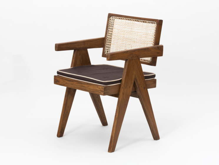 designer chairs floating back armchair