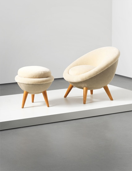 Designer chairs jean royere oeuf