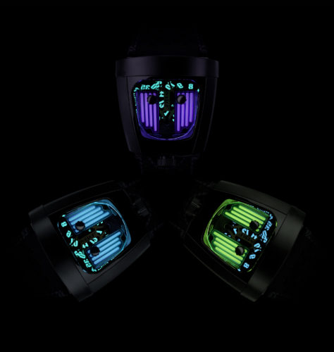 lume dial watches