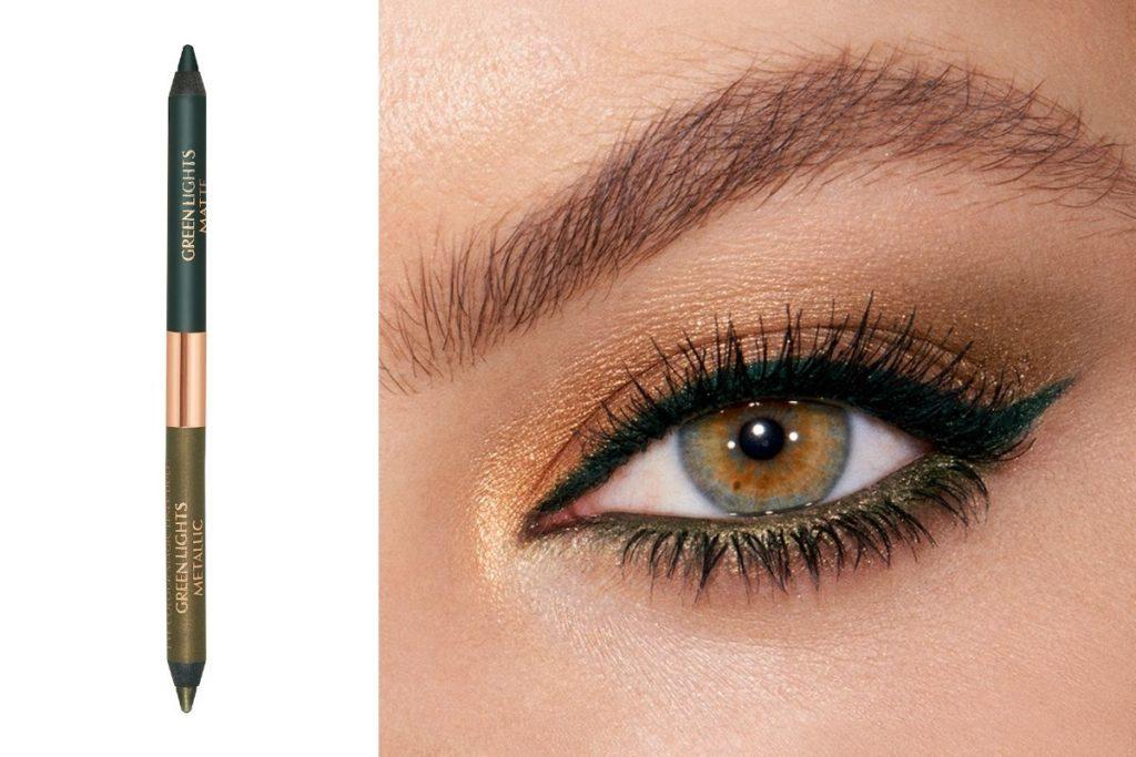 metallic eyeliner