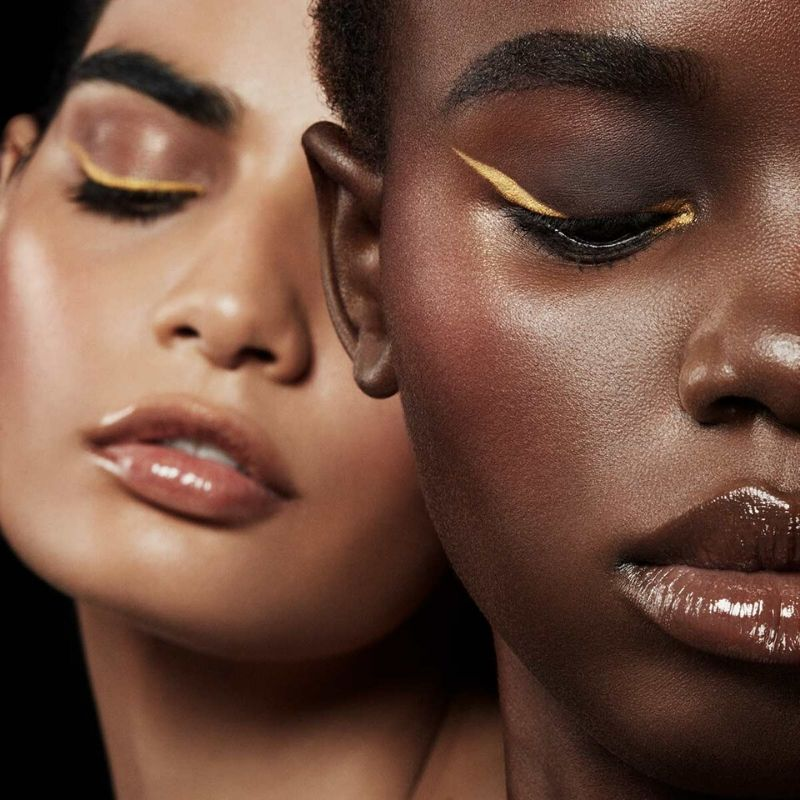 Metallic eyeliner is the dazzling new beauty trend to try this summer