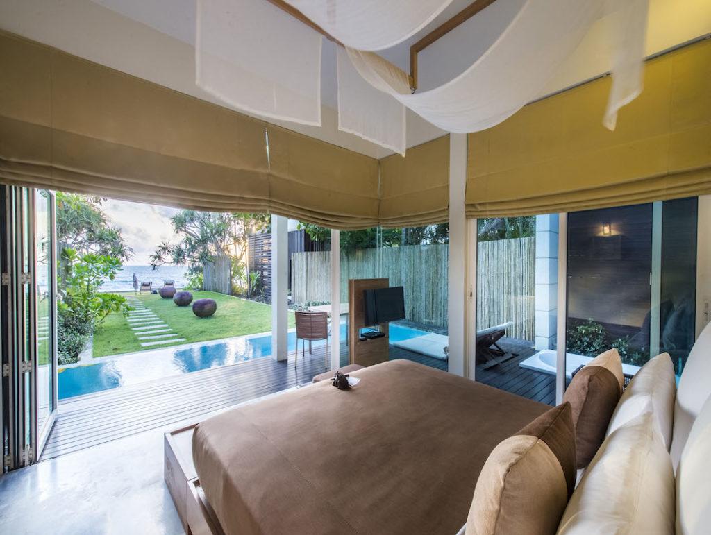 Aleenta Phuket Pool Suite Bedroom seaview