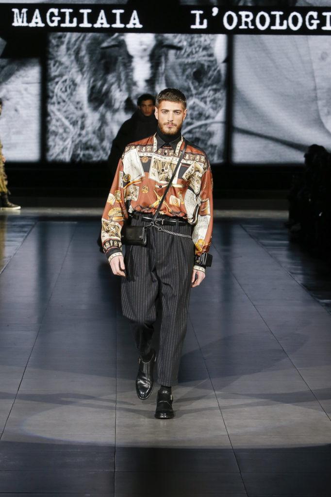 Autumn Winter 2020 Menswear Highlights Gucci Dolce Gabbana Hermes Dior Men Fendi Bottega Veneta Givenchy And Issey Miyake