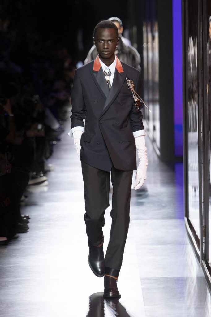Autumn Winter 2020 Menswear Highlights Gucci Dolce Gabbana Hermes Dior Men Fendi Bottega Veneta Givenchy And Issey Miyake