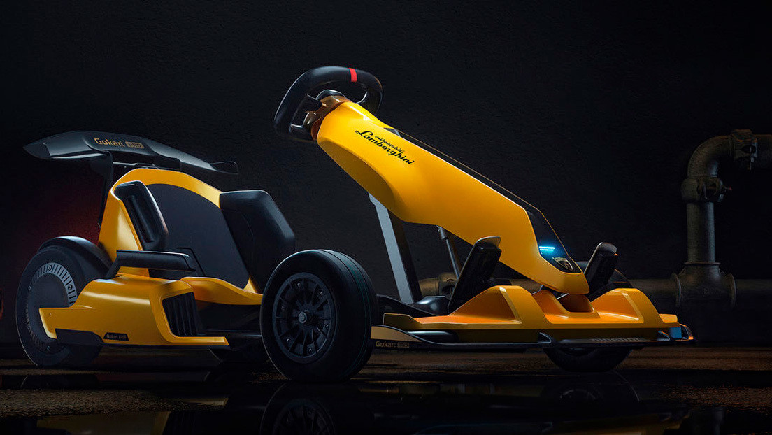 Xiaomi and Lamborghini have teamed up to create a Huracan-styled go-kart