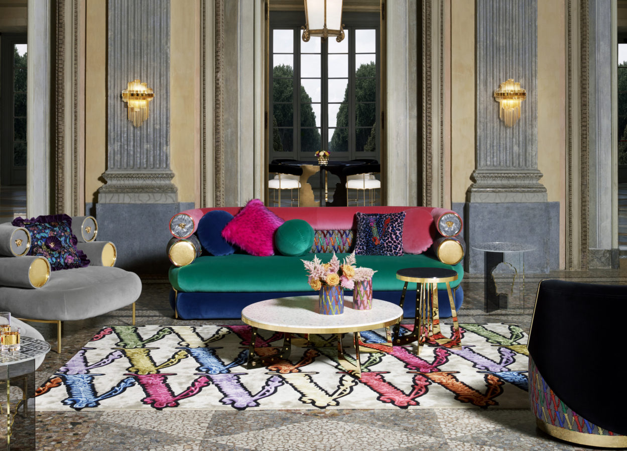 Versace's Home Collection 2020 captures the essence of luxury living