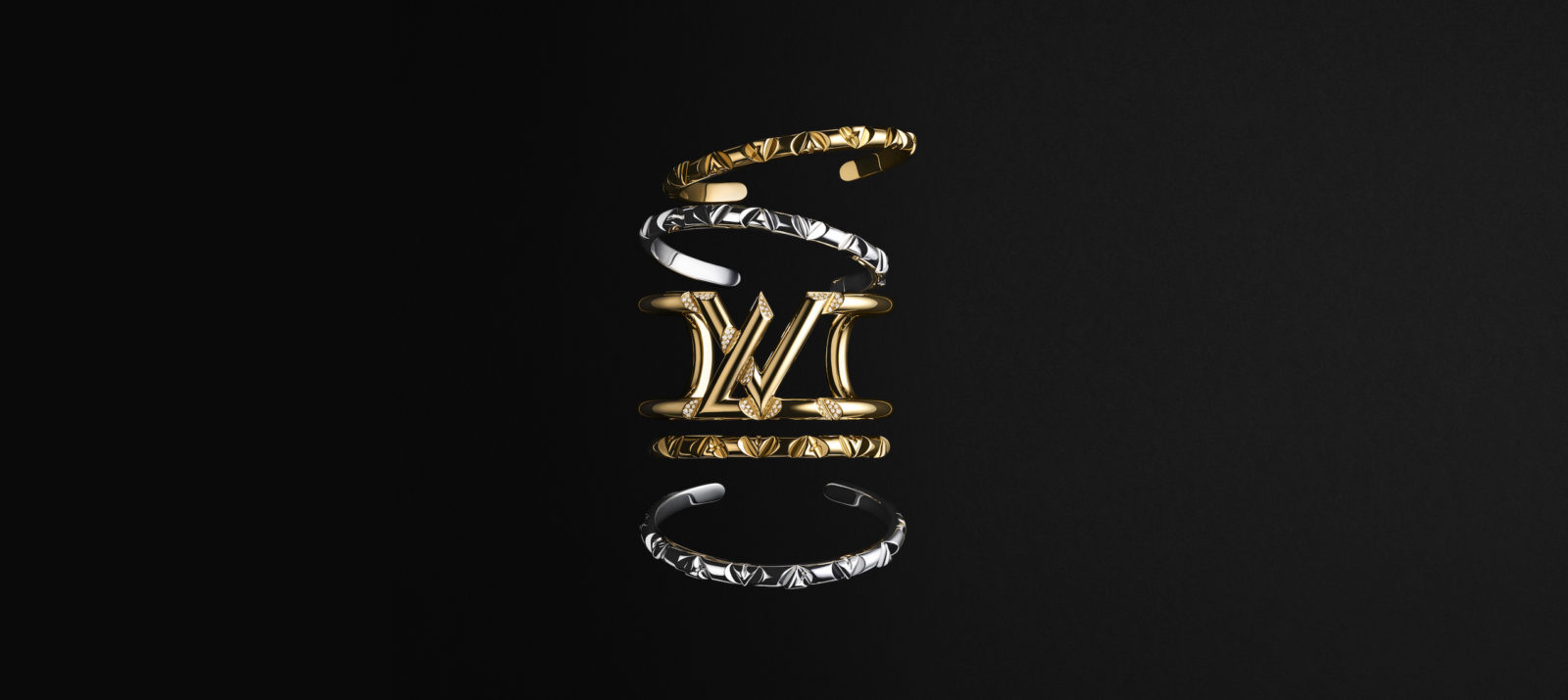 Louis Vuitton's LV Volt collection is a bold step towards unisex jewellery