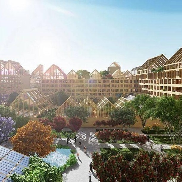 Self-Sufficient City: Spanish firm Guallart Architects envisions a sustainable urban environment for the future