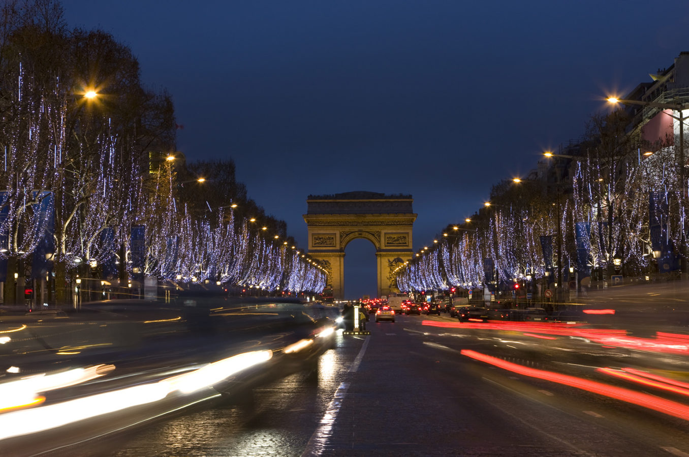 This year, you can take part in turning on the Christmas lights on Paris Champs Elysees from your sofa