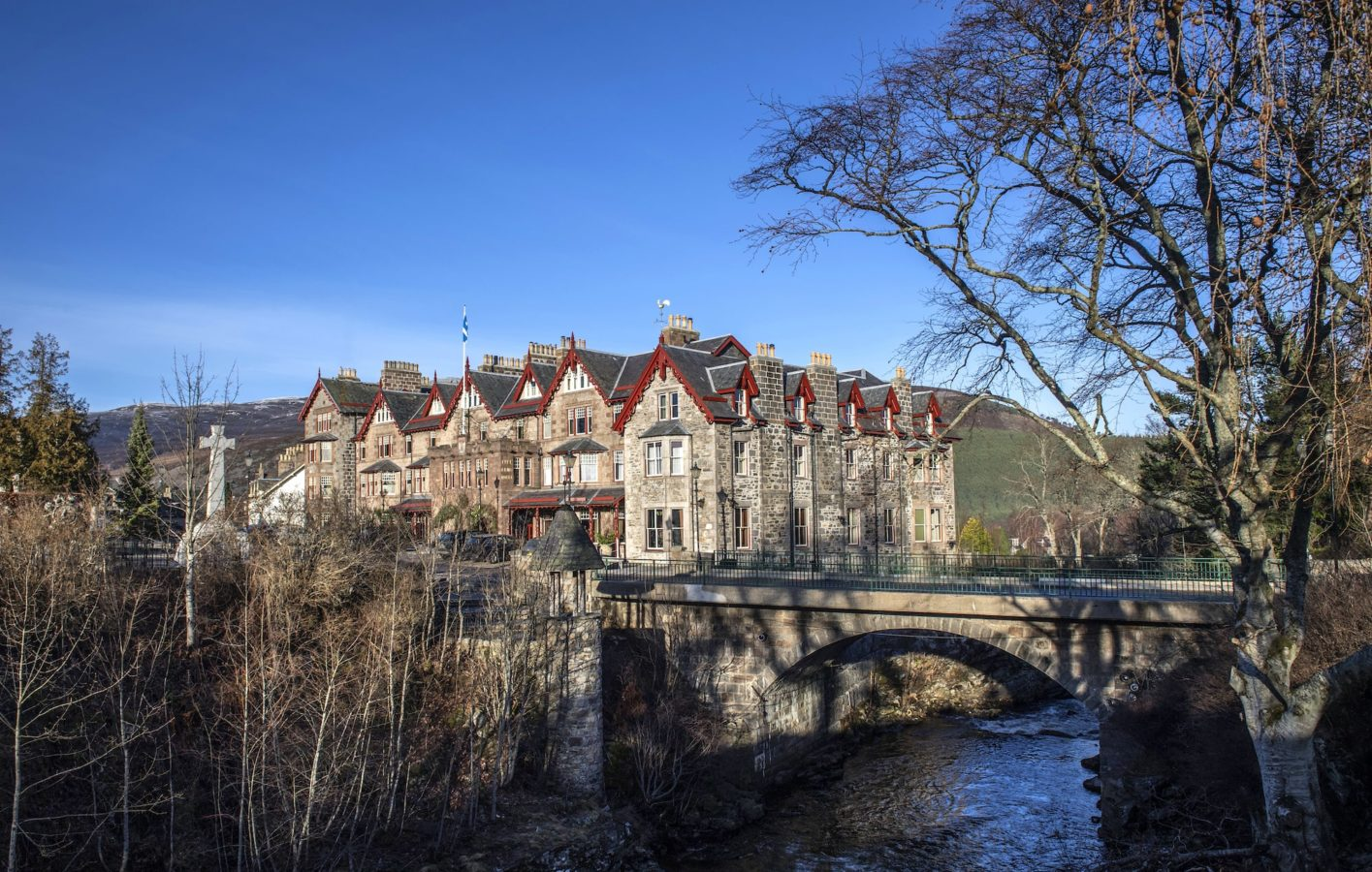 The Fife Arms: Live in visual splendour at this stunning hotel in Braemar, Scotland