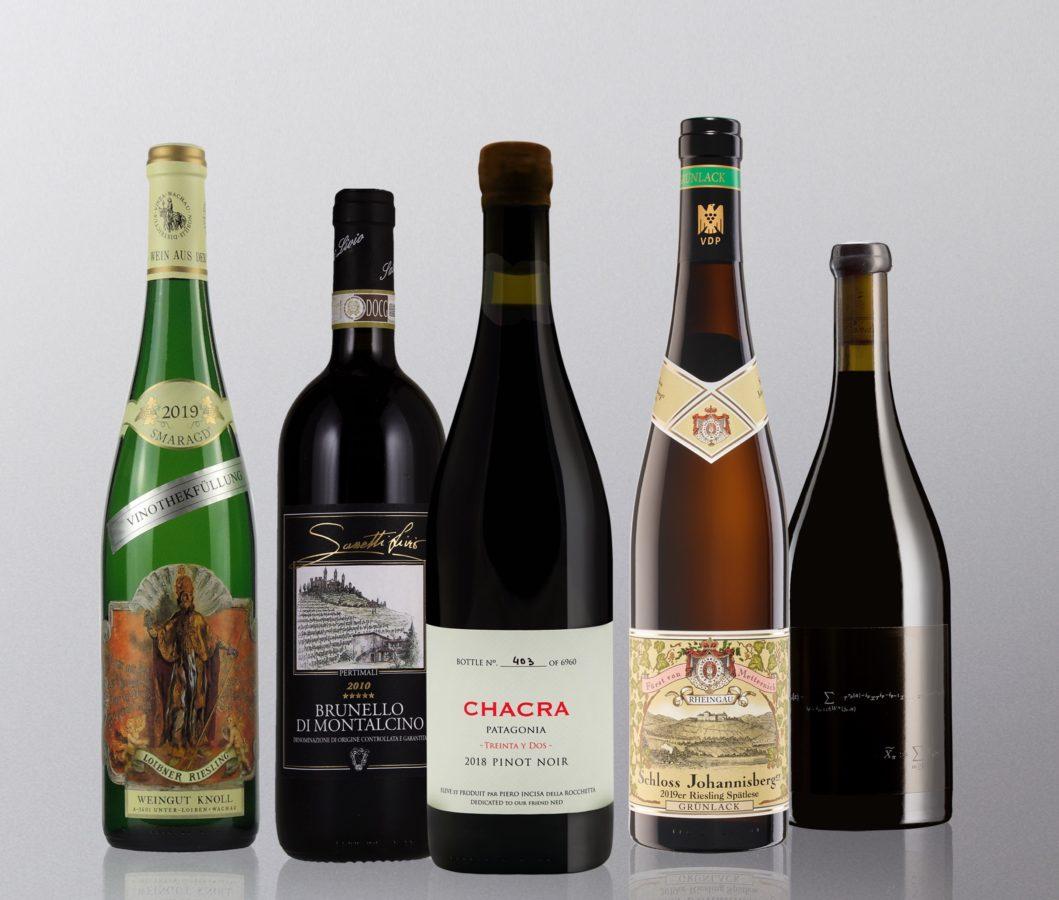 James Suckling's top 10 wines of 2020