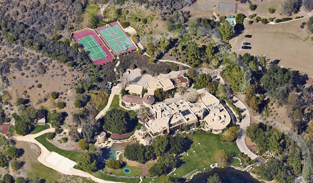 Will Smith - most Googled homes